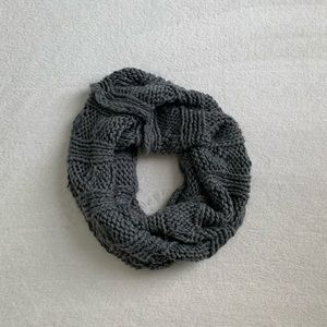 Aerie Gray Infinity Scarf